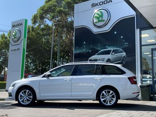 2020 Skoda Octavia NE MY20.5 110TSI DSG White 7 Speed Sports Automatic Dual Clutch Wagon.