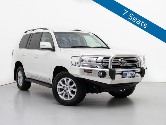 Used Toyota Landcruiser VDJ200R MY16 Sahara (4x4), 2018 Toyota Landcruiser VDJ200R MY16 Sahara (4x4) White 6 Speed Automatic Wagon