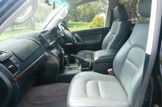 2009 Toyota Landcruiser UZJ200R MY10 VX Black 5 Speed Sports Automatic Wagon