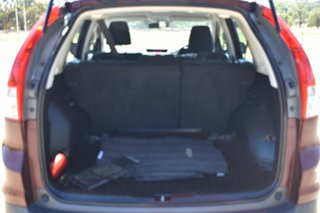 2012 Honda CR-V RM VTi Burgundy 5 Speed Automatic Wagon