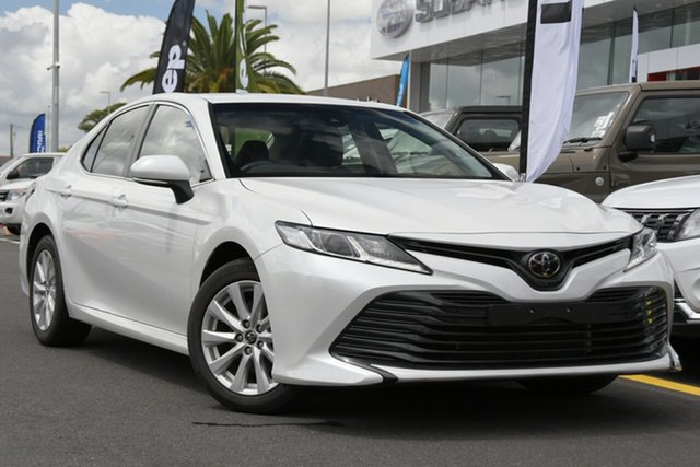 Used Toyota Camry ASV70R Ascent Aspley, 2019 Toyota Camry ASV70R Ascent White 6 Speed Sports Automatic Sedan