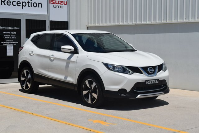 Used Nissan Qashqai J11 N-Sport Rutherford, 2017 Nissan Qashqai J11 N-Sport White 1 Speed Constant Variable Wagon