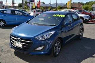 2015 Hyundai i30 GD3 Series 2 Active X Blue 6 Speed Automatic Hatchback.