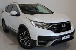 2020 Honda CR-V RW MY21 VTi FWD L7 White 1 Speed Constant Variable Wagon.