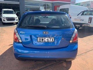 2010 Kia Rio JB MY11 Sports Blue 4 Speed Automatic Hatchback