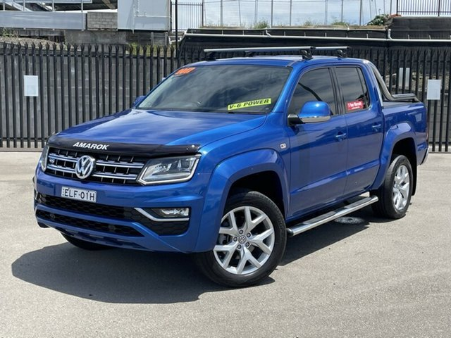 Used Volkswagen Amarok 2H MY17.5 TDI550 4MOTION Perm Ultimate Newcastle, 2017 Volkswagen Amarok 2H MY17.5 TDI550 4MOTION Perm Ultimate Blue 8 Speed Automatic Utility