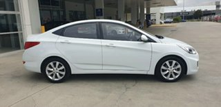 2017 Hyundai Accent RB6 MY18 Sport Chalk White 6 Speed Sports Automatic Sedan.