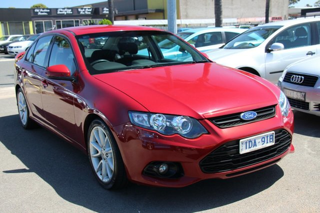 Used Ford Falcon FG MkII XR6 Cheltenham, 2013 Ford Falcon FG MkII XR6 Burgundy 6 Speed Sports Automatic Sedan