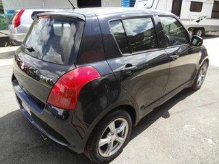 2006 Suzuki Swift EZ GLX (Qld) Black 5 Speed Manual Hatchback