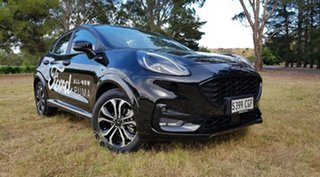 2020 Ford Puma JK 2020.75MY ST-Line Agate Black Metallic 7 Speed Sports Automatic Dual Clutch Wagon.