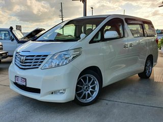 2008 Toyota Alphard White 6 Speed Automatic Wagon