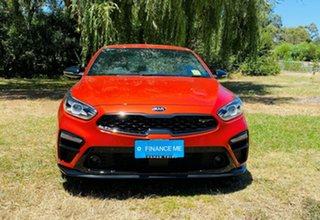 2020 Kia Cerato BD MY21 GT DCT Sunset Orange 7 Speed Automatic Sedan.