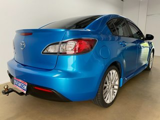 2010 Mazda 3 BL 10 Upgrade Maxx Blue 6 Speed Manual Sedan.