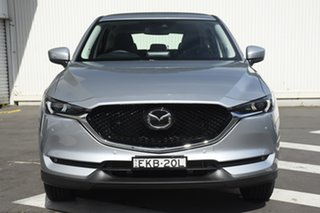 2020 Mazda CX-5 KF4WLA Touring SKYACTIV-Drive i-ACTIV AWD Silver 6 Speed Sports Automatic Wagon