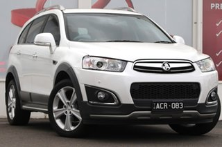 2015 Holden Captiva CG MY15 7 AWD LTZ White 6 Speed Sports Automatic Wagon.