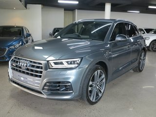 2018 Audi SQ5 FY MY19 Tiptronic Quattro Grey 8 Speed Sports Automatic Wagon.