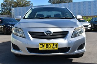 2007 Toyota Corolla ZZE122R 5Y Ascent Silver 4 Speed Automatic Sedan