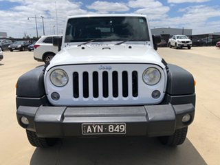 2016 Jeep Wrangler JK MY2016 Sport Bright White 5 Speed Automatic Softtop