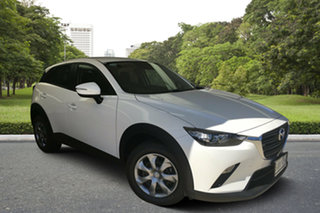 2020 Mazda CX-3 DK2W7A Neo SKYACTIV-Drive FWD Sport White Pearl 6 Speed Sports Automatic Wagon.