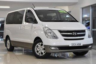2012 Hyundai iMAX TQ-W MY12 White 4 Speed Automatic Wagon.
