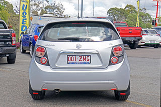 2015 Holden Barina TM MY16 CD Silver 6 Speed Automatic Hatchback