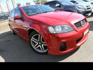 2011 Holden Commodore VE II SV6 Red 6 Speed Automatic Sportswagon.