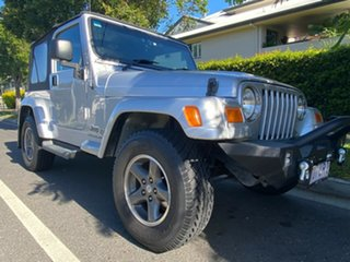 2007 Jeep Wrangler TJ MY2006 Sport Silver 4 Speed Automatic Softtop.