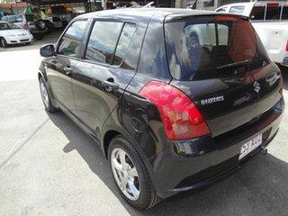 2006 Suzuki Swift EZ GLX (Qld) Black 5 Speed Manual Hatchback.