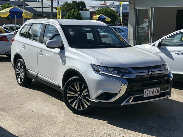 Used Mitsubishi Outlander ZL MY19 ES AWD Chermside, 2019 Mitsubishi Outlander ZL MY19 ES AWD White 6 Speed Constant Variable Wagon