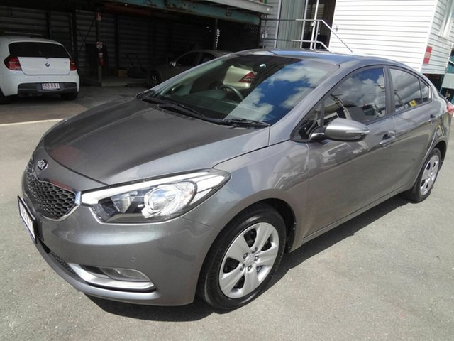 Used Kia Cerato YD MY15 S Coopers Plains, 2015 Kia Cerato YD MY15 S Grey 6 Speed Automatic Sedan