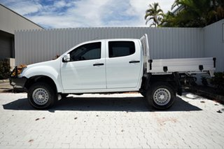 2015 Isuzu D-MAX MY15 SX Crew Cab White 5 Speed Sports Automatic Utility