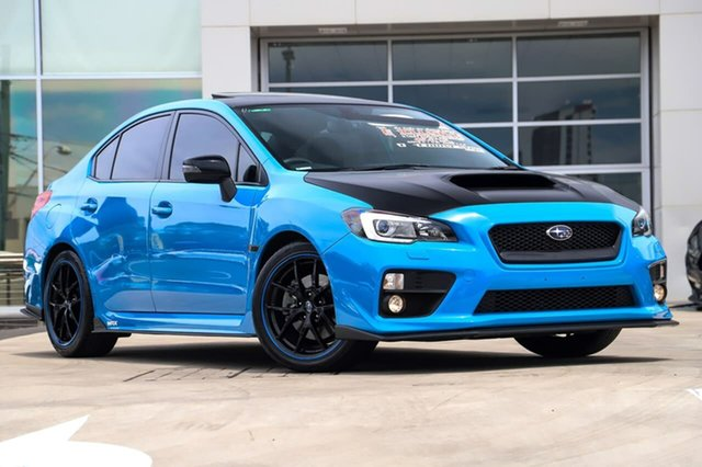 Used Subaru WRX V1 MY16 Hyper Blue Lineartronic AWD Liverpool, 2015 Subaru WRX V1 MY16 Hyper Blue Lineartronic AWD Hyper Blue 8 Speed Constant Variable Sedan
