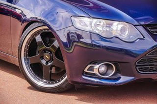 2013 Ford Falcon FG MkII XR6 Turbo Blue 6 Speed Sports Automatic Sedan