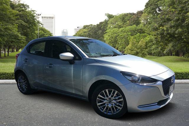 Demo Mazda 2 DJ2HAA G15 SKYACTIV-Drive Evolve Paradise, 2020 Mazda 2 DJ2HAA G15 SKYACTIV-Drive Evolve Sonic Silver 6 Speed Sports Automatic Hatchback