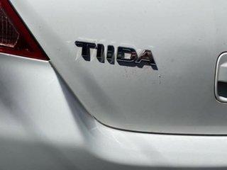 2007 Nissan Tiida C11 MY07 ST White 6 Speed Manual Hatchback