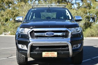 2016 Ford Ranger PX MkII XLT Double Cab 4x2 Hi-Rider Black 6 Speed Sports Automatic Utility.