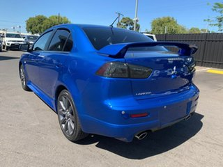 2014 Mitsubishi Lancer CJ MY14.5 Ralliart TC-SST Blue 6 Speed Sports Automatic Dual Clutch Sedan