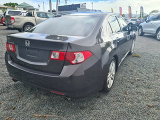 2010 Honda Accord Euro CU MY10 Luxury Grey 5 Speed Automatic Sedan.