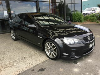 2011 Holden Commodore VE II MY12 SS-V Black 6 Speed Automatic Sedan.