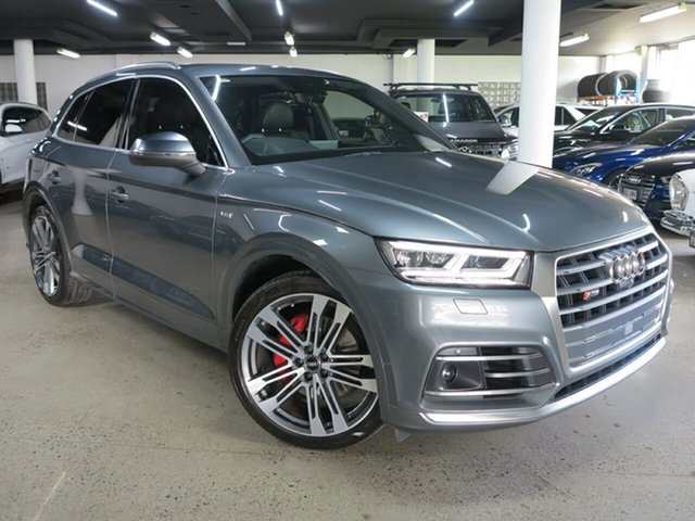 Used Audi SQ5 FY MY19 Tiptronic Quattro Albion, 2018 Audi SQ5 FY MY19 Tiptronic Quattro Grey 8 Speed Sports Automatic Wagon