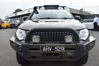 2016 Mitsubishi Triton MQ MY17 GLS Double Cab Green 5 Speed Sports Automatic Utility