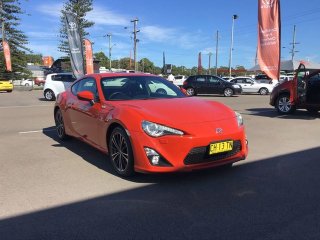 Pre-Owned Toyota 86 ZN6 GTS Cardiff, 2013 Toyota 86 ZN6 GTS Red 6 Speed Sports Automatic Coupe