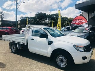 2012 Ford Ranger PX XL White 6 Speed Manual Utility