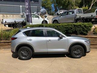 2020 Mazda CX-5 KF4WLA Maxx SKYACTIV-Drive i-ACTIV AWD Sport Silver 6 Speed Sports Automatic Wagon.