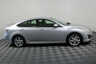 2012 Mazda 6 GH1022 MY12 Sports Sunlight Silver 6 Speed Manual Hatchback
