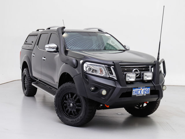 Used Nissan Navara D23 Series II ST-X (4x4) (Sunroof), 2017 Nissan Navara D23 Series II ST-X (4x4) (Sunroof) Black 7 Speed Automatic Dual Cab Utility