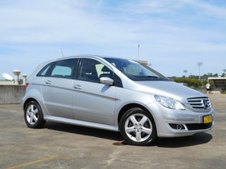 2007 Mercedes-Benz B-Class W245 B200 Silver 7 Speed Constant Variable Hatchback.