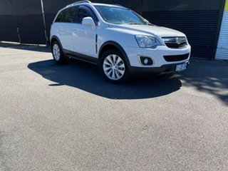 2014 Holden Captiva CG MY14 5 AWD LT White 6 Speed Sports Automatic Wagon.
