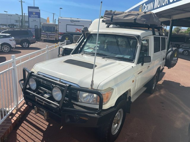 Used Toyota Landcruiser Troopcarrier St James, 2011 Troopcarrier Toyota Landcruiser White Motor Camper