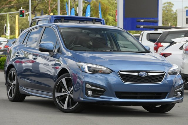 Used Subaru Impreza G5 MY19 2.0i-S CVT AWD Aspley, 2019 Subaru Impreza G5 MY19 2.0i-S CVT AWD Quartz Blue 7 Speed Constant Variable Hatchback